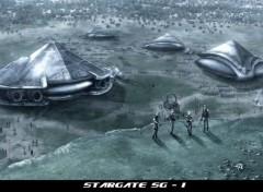 Fonds d'écran Séries TV stargate SG-1