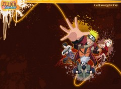 Fonds d'écran Manga Naruto Paint