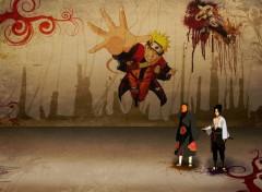 Fonds d'écran Manga Naruto Wall