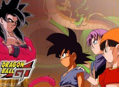 Fonds d'écran Manga Dragon Ball GT