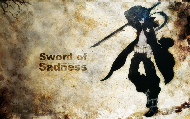 Fonds d'écran Manga Black Rock Shooter Sword of Sadness