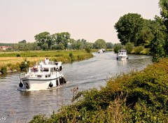 Fonds d'écran Bateaux Canal de Frelinghien