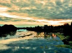Wallpapers Nature Le Cher à l'aube de l'été
