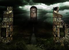Fonds d'écran Fantasy et Science Fiction Le portail