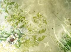 Fonds d'écran Manga Umineko and butterflies