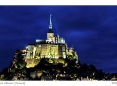 Wallpapers Trips : Europ Mont Saint-Michel (Nuit)