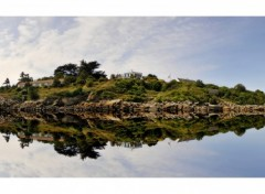 Fonds d'écran Voyages : Europe Iles de Chausey (reflet rajouté)