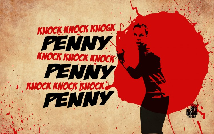 Wallpapers TV Soaps The Big Bang Theory Knock Knock Knock Penny
