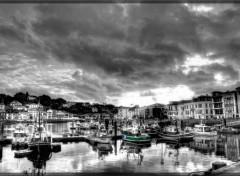Fonds d'écran Bateaux Saint Jean de Luz port