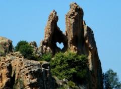 Fonds d'écran Voyages : Europe Coeur des Calanches de Piana