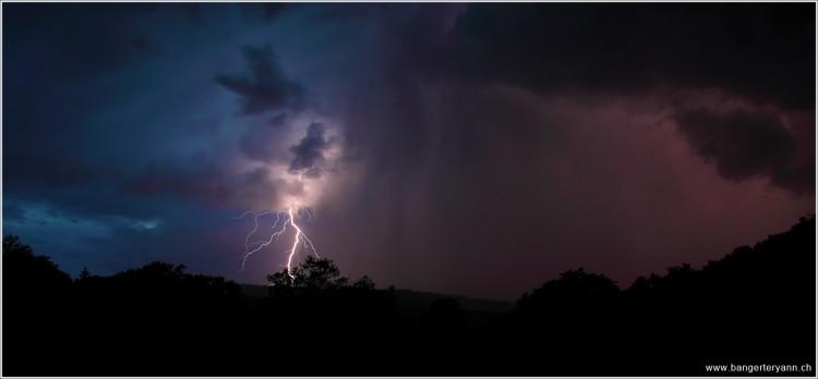 Fonds d'écran Nature Eclairs - Foudre L'orage