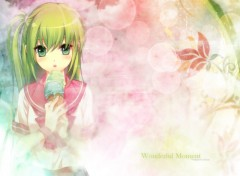 Wallpapers Manga Wonderful Moment