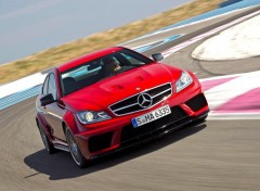 Fonds d'écran Voitures Mercedes-Benz C63 AMG Coupe Black Series