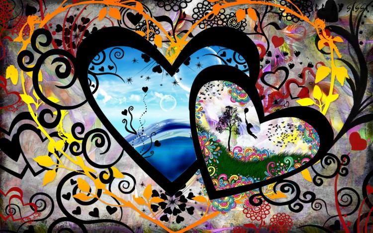 Fonds d 39 cran art num rique fonds d 39 cran amour for Fond ecran amour