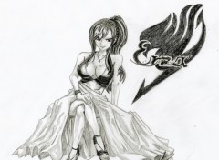 Wallpapers Art - Pencil Erza