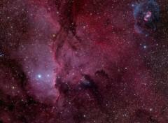 Wallpapers Space NGC 6188 & NGC 6164