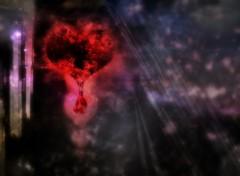 Fonds d'écran Art - Numérique Heart Fall
