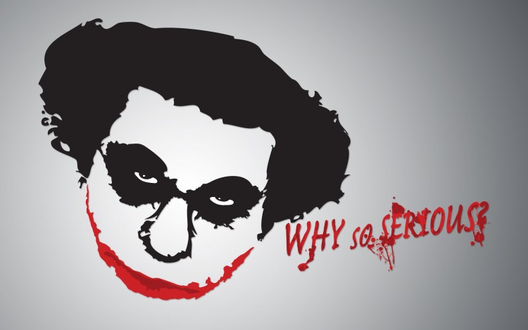 Wallpapers Humor Caricatures Coluche - Why So Serious
