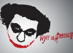 Wallpapers Humor Coluche - Why So Serious