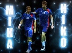 Wallpapers Sports - Leisures Nikola KARABATIC MICHAEL GUIGOU