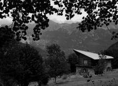 Wallpapers Constructions and architecture chalet à la montagne