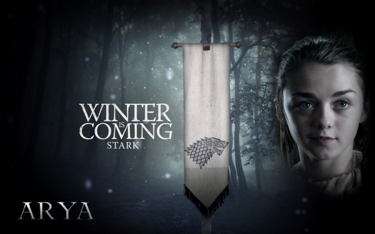 Fonds d'écran Séries TV Le Trône de Fer : Game Of Thrones Arya Stark
