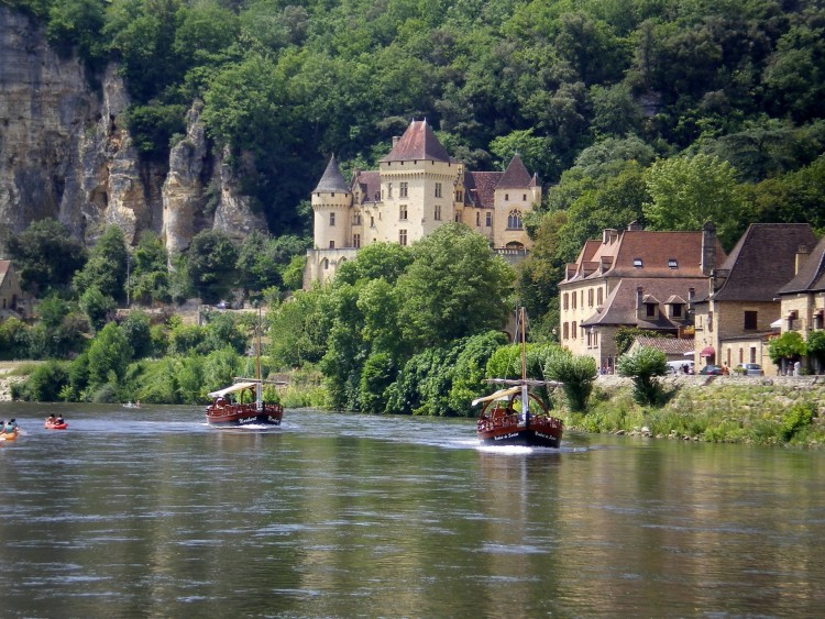 Wallpapers Trips : Europ France > Aquitaine la roque-gageac
