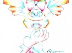 Fonds d'écran Art - Crayon Öhms et le Diamant de Vëld