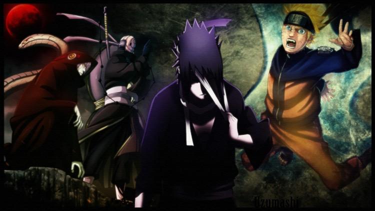 Wallpapers Manga Naruto Madara's strategy