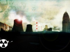 Wallpapers Digital Art Nuclear town