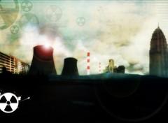 Fonds d'écran Art - Numérique Nuclear town