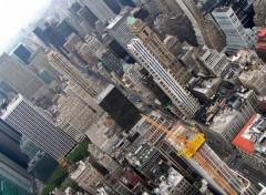 Fonds d'écran Voyages : Amérique du nord Buildings- vue depuis l'Empire State Building