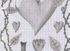 Fonds d'écran Art - Crayon Dessin d'amour