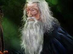 Fonds d'écran Art - Numérique Gandalf