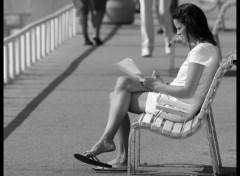 Fonds d'écran Hommes - Evênements Sur un banc...