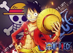 Fonds d'écran Manga Luffy - 2 Y later