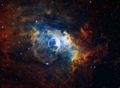Wallpapers Space Bubble Nebula