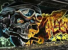 Fonds d'écran Art - Peinture Bad Skull