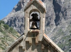 Wallpapers Constructions and architecture Clocher La Berarde Oisans