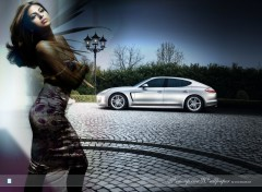 Wallpapers Cars Porsche 2012 with Eva