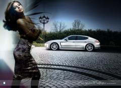 Wallpapers Cars Porsche 2012 with Eva