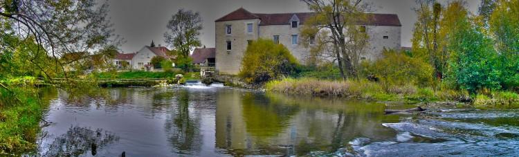 Fonds d'écran Constructions et architecture Moulins - Eoliennes Perrigny sur Armançon : le moulin