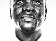 Wallpapers Art - Pencil Akon