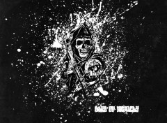 Fonds d'écran Séries TV Sons Of Anarchy - Reaper Splash