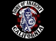 Wallpapers TV Soaps Sons Of Anarchy - Reaper Halftone