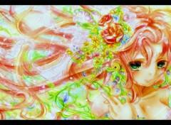 Fonds d'écran Manga Megurine Luka