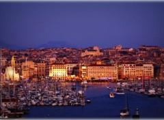 Fonds d'écran Voyages : Europe Vieux port - Marseille