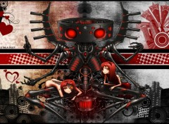 Wallpapers Manga Cyborg Sitter