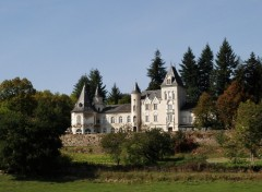 Wallpapers Constructions and architecture Chateau de Tremolin a st Just en Chevalet ,Loire 42