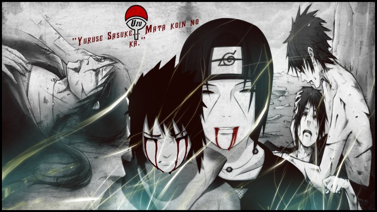 Wallpapers Manga Naruto Fuis , accroche-toi à la vie